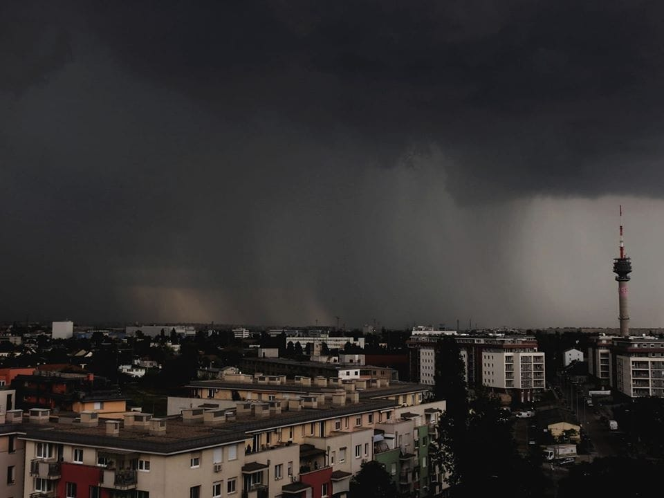 Felhőszakadás Budapesten! 1