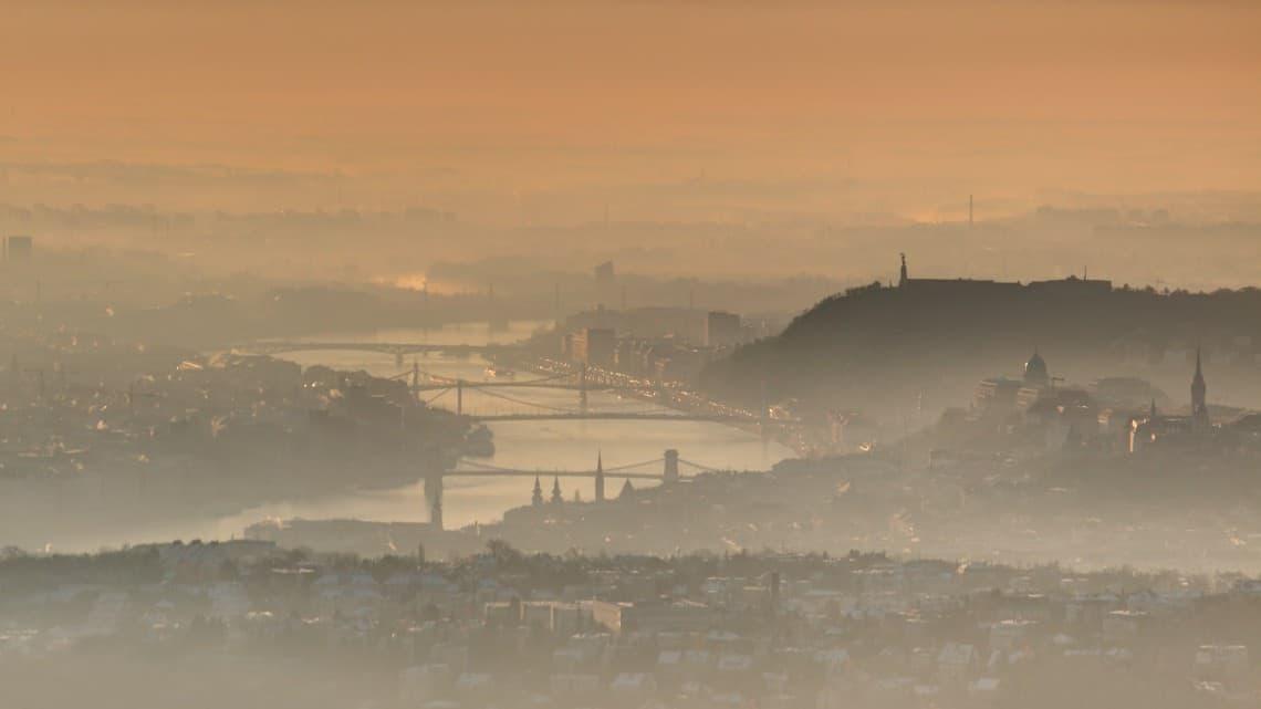 Több városban már egészségtelen a levegő 1
