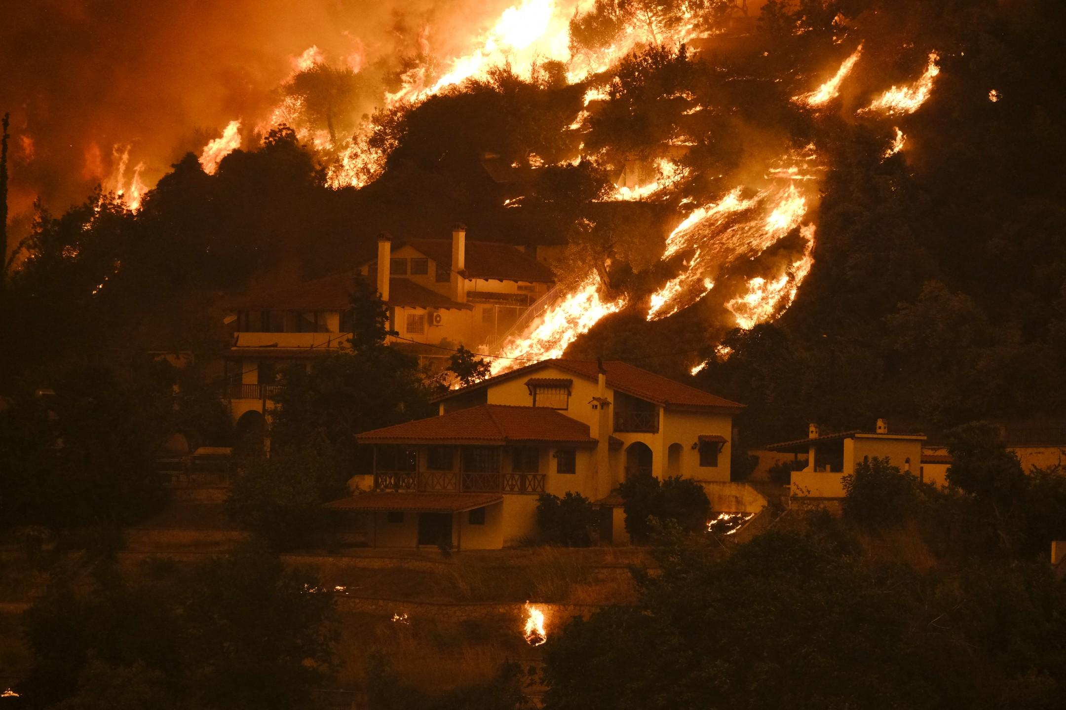 """Görögország: """"Élve fogunk elégni""""! Apokaliptikus állapotok, forróság! 3"""