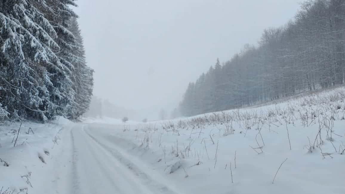 Vastag hóréteg alakult ki a havazás nyomán!