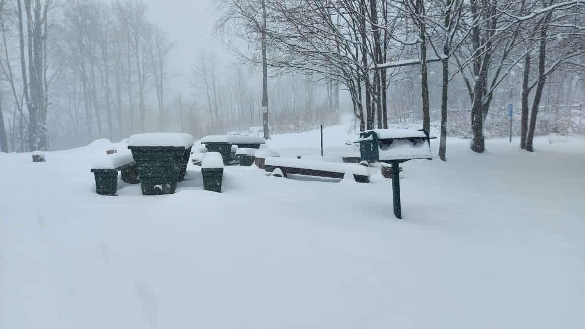 Helyenként 15-20cm hó hullott! 1