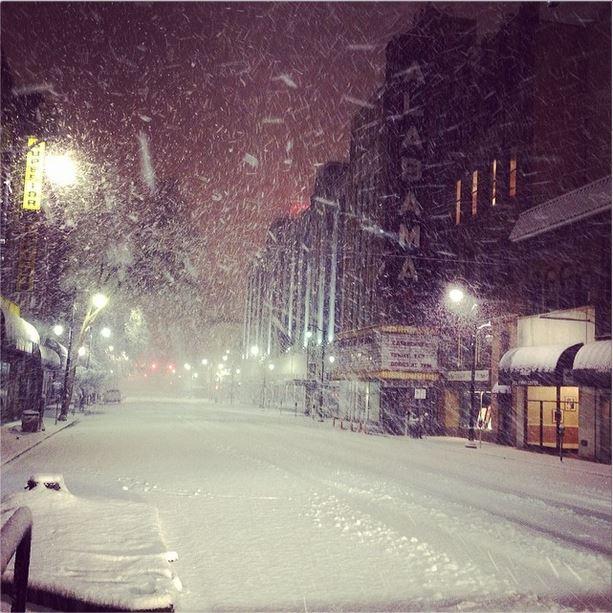 Szakad a hó a Dunántúlon, fehéredik a táj! (Videó) 1