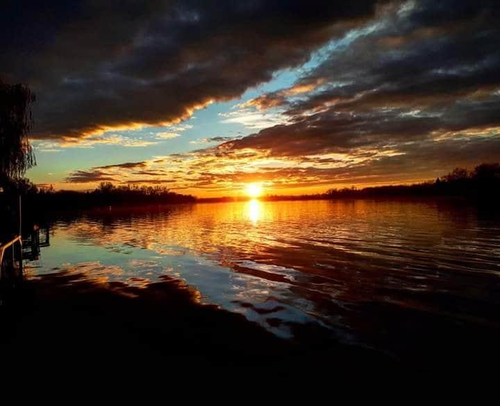 Dömsödi gyönyörű naplemente 1