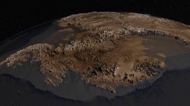 A Thwaites-gleccser, avagy hogyan olvad a sarki jég. 1