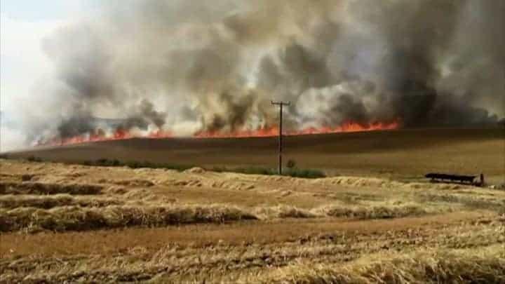 Rengeteg tűz volt az országban! 1