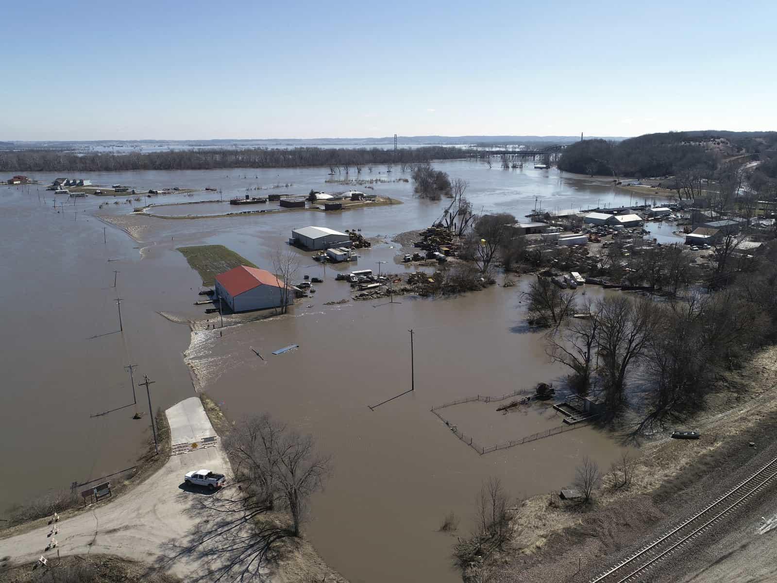 Komoly áradás Nebraska államban! 8