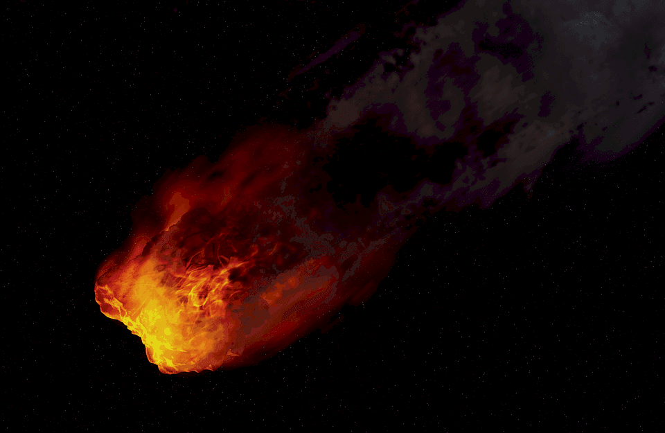 Meteorrobbanás a Bering-tenger felett! 1