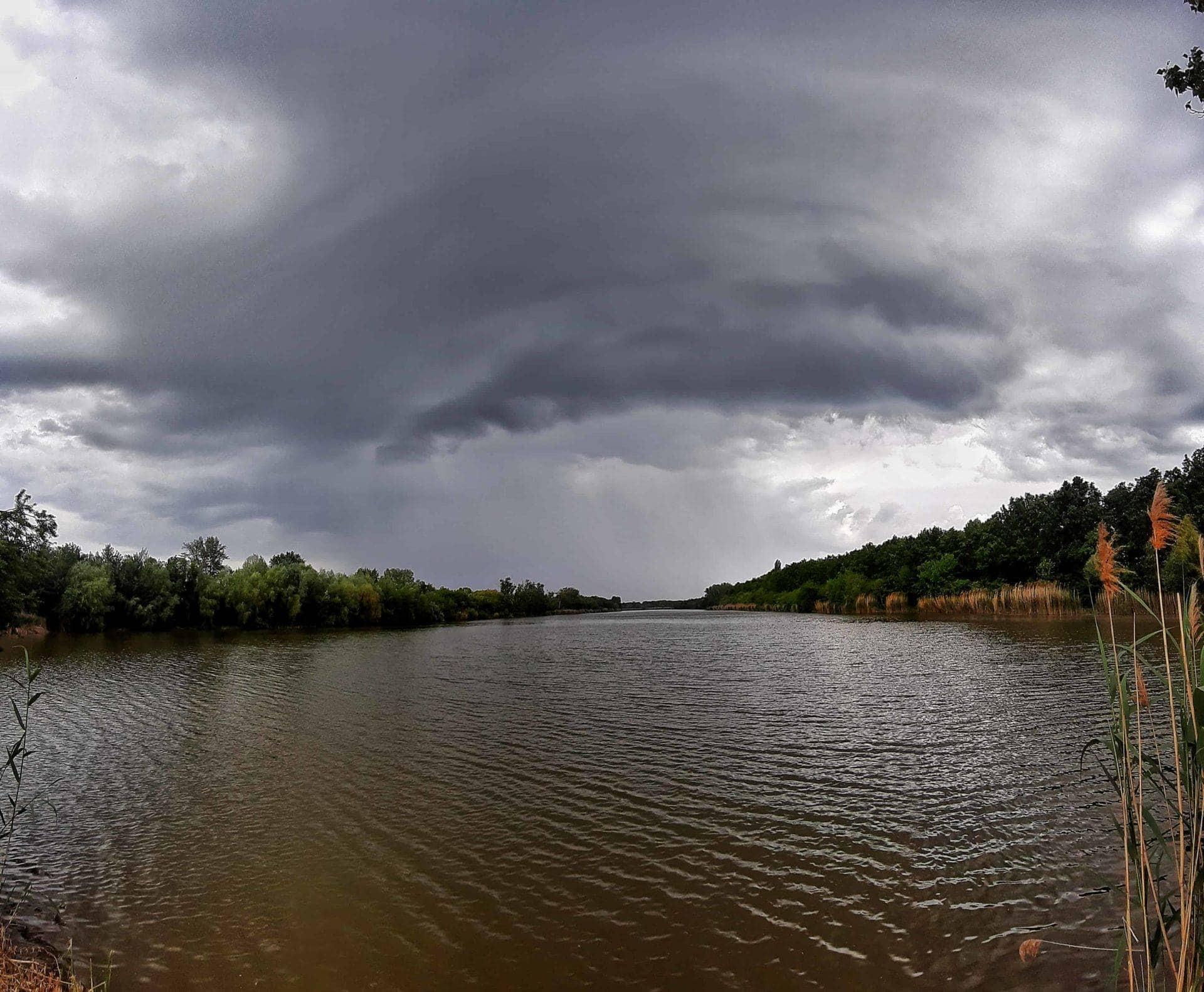 A vihar érkezése Csongrádra! (Fotók) 2