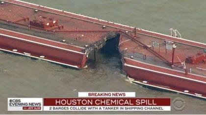 Újabb környezeti katasztrófa fenyeget Houston partjainál! 2