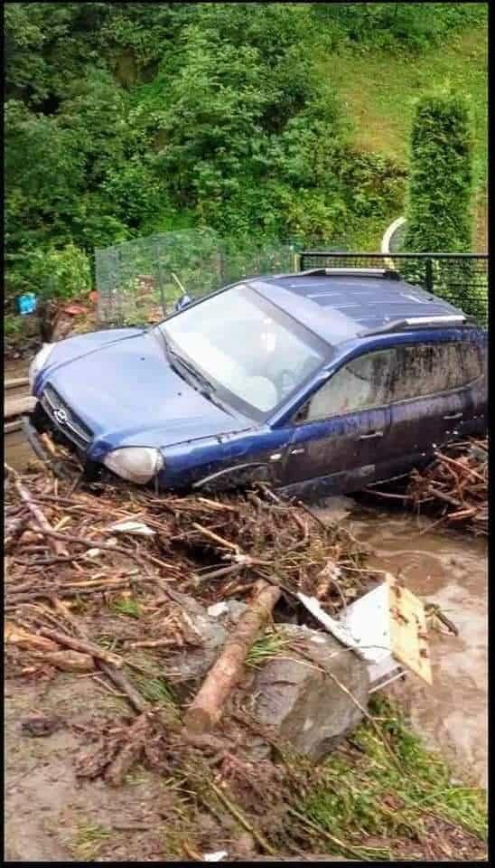 Brutális árvíz Romániában!(Videó) 5