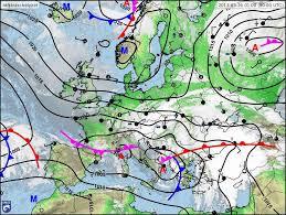 Mediterrán ciklonhoz kapcsolódó melegfront