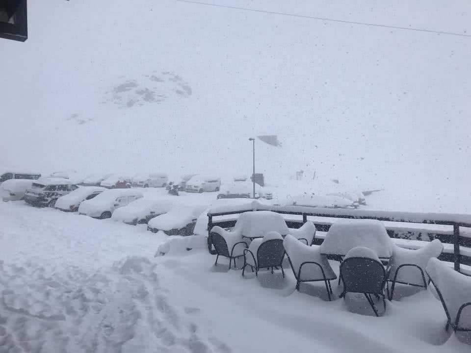 Gyűlik a hó az Alpokban!(Képek, videó) 10