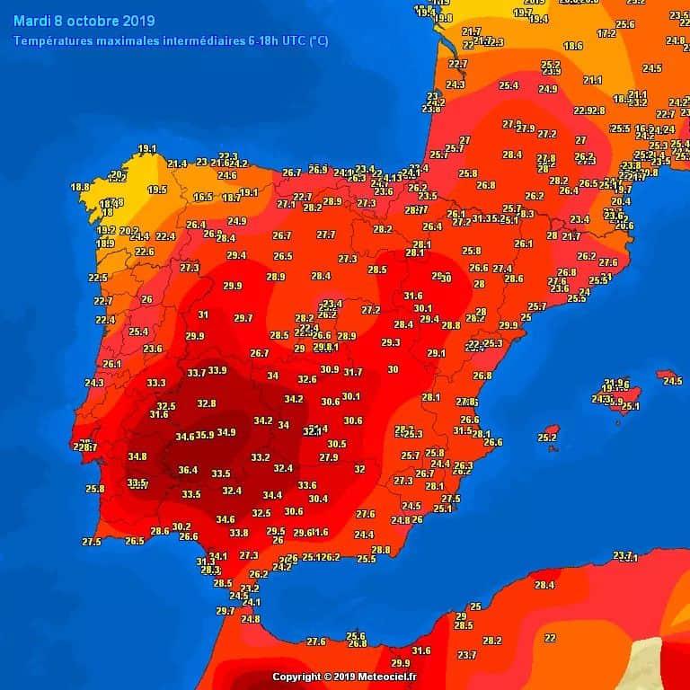 35 fokos hőség Spanyolországban!