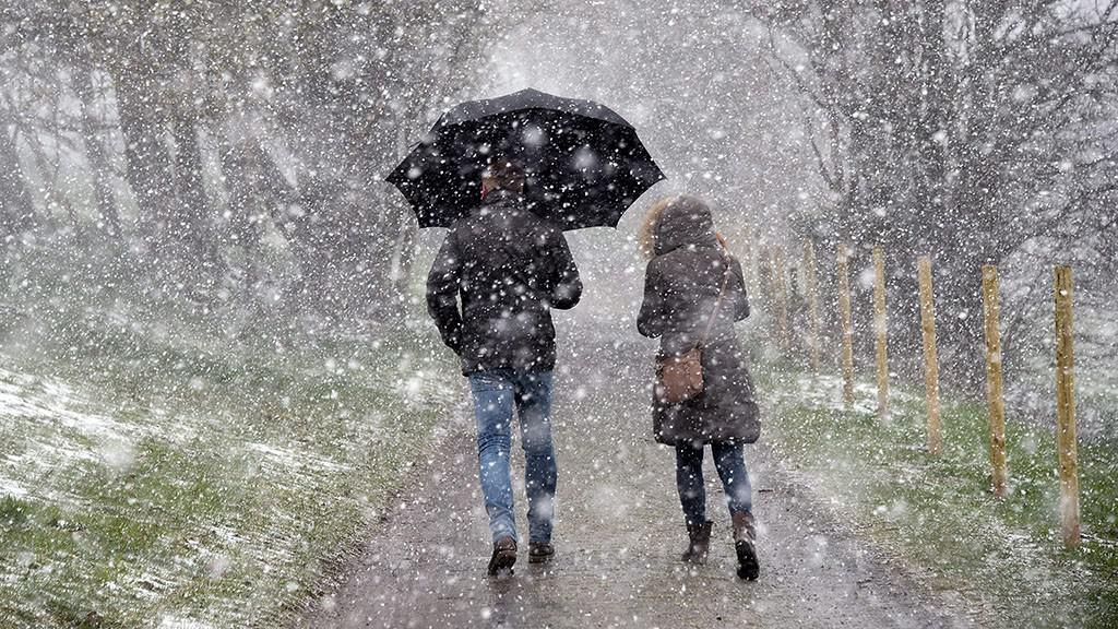 Egyre erősebben havazik a Kékesen!(Videó)
