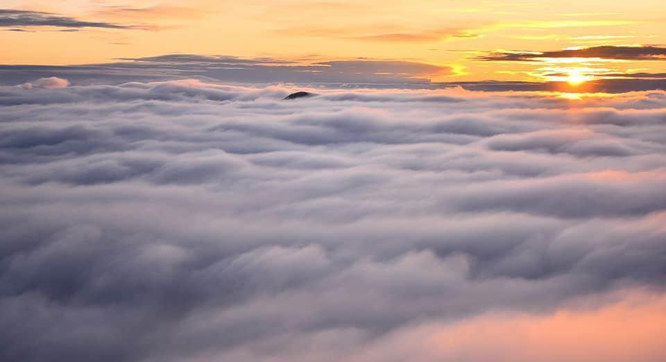 Mesébe illő napkelte ma a Szent György-hegyről!