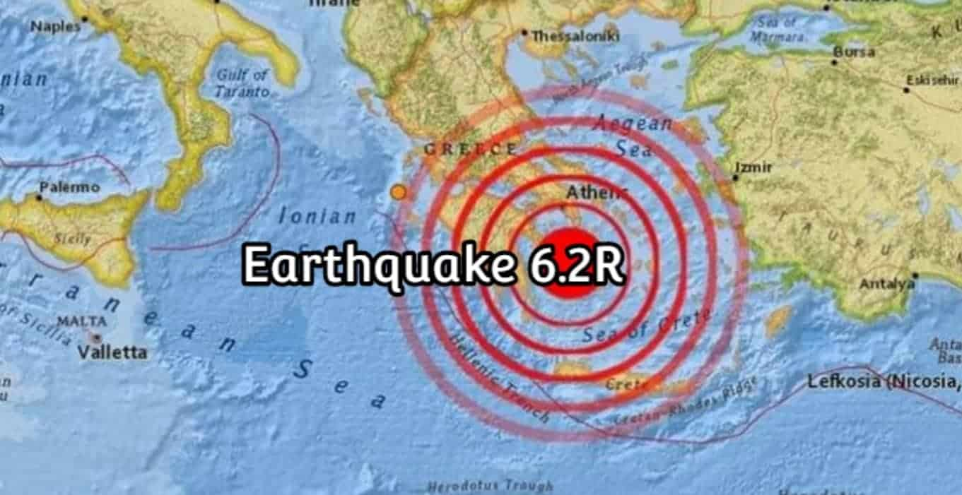 Újabb földmozgások délen, ezúttal Görögországban volt földrengés! 1