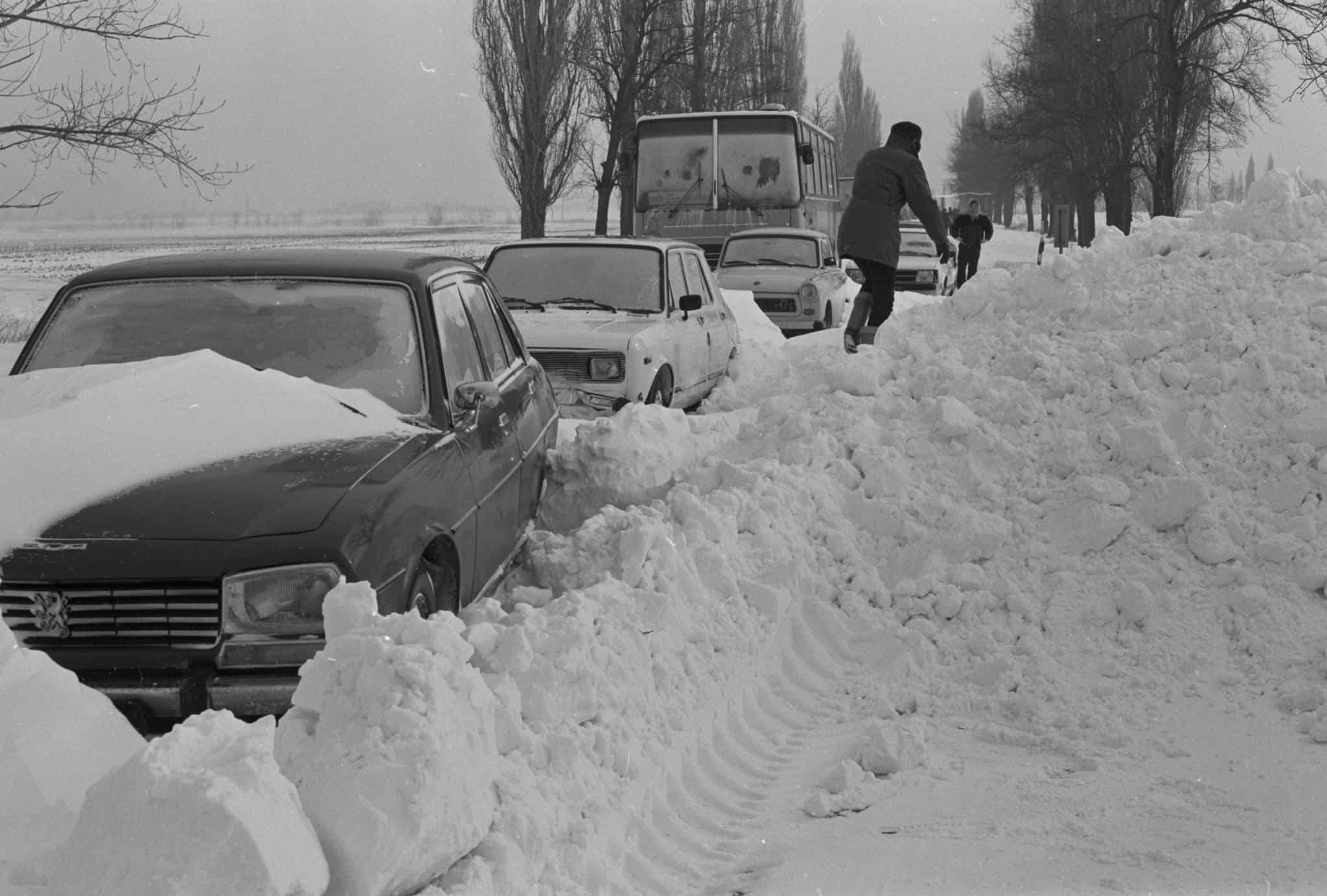 A hó fogságában: az 1987-es, januári ítéletidő, hóvihar -Mementó 4