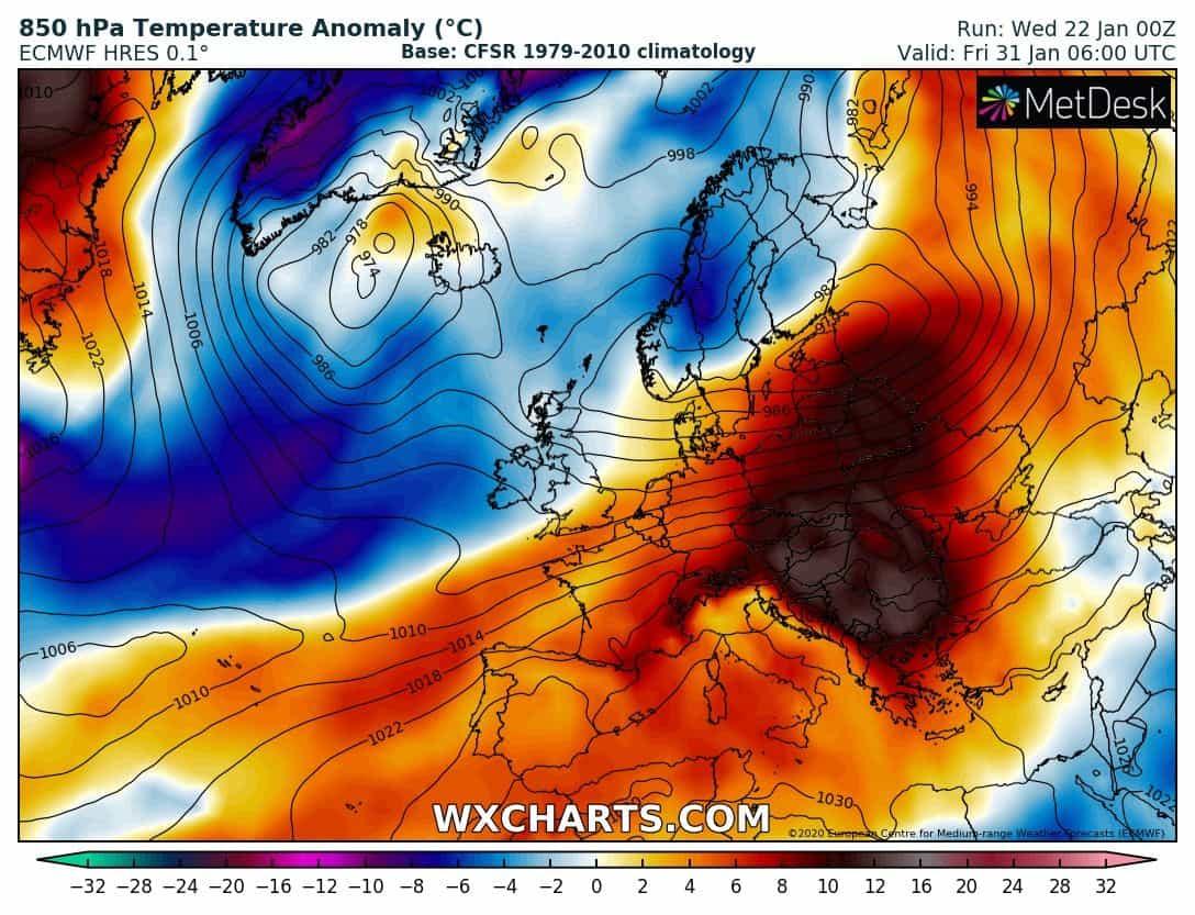 Kora tavaszias idővel búcsúzik a január, jövő héten már éjszakai fagy is kevés helyen lehet