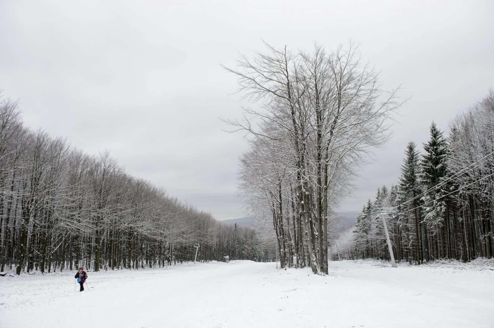 Gyönyörű havas pillanatképek Kékestetőről! 5