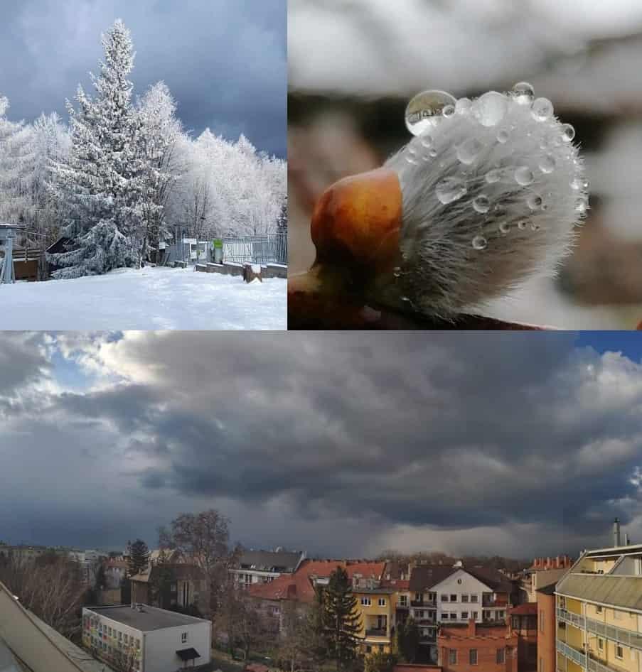 Sok csapadék, melegedés, majd erős lehűlés, néhol hóval❗( Térkép-videóval)