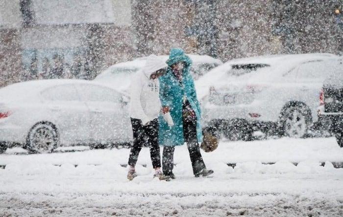 Gyönyörű havazás Olaszországból! (Videóval)