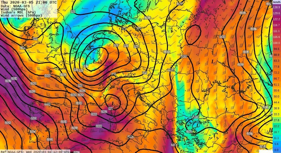 Pénteken markáns ciklon, esővel, sőt az északi hegyekben havazással!