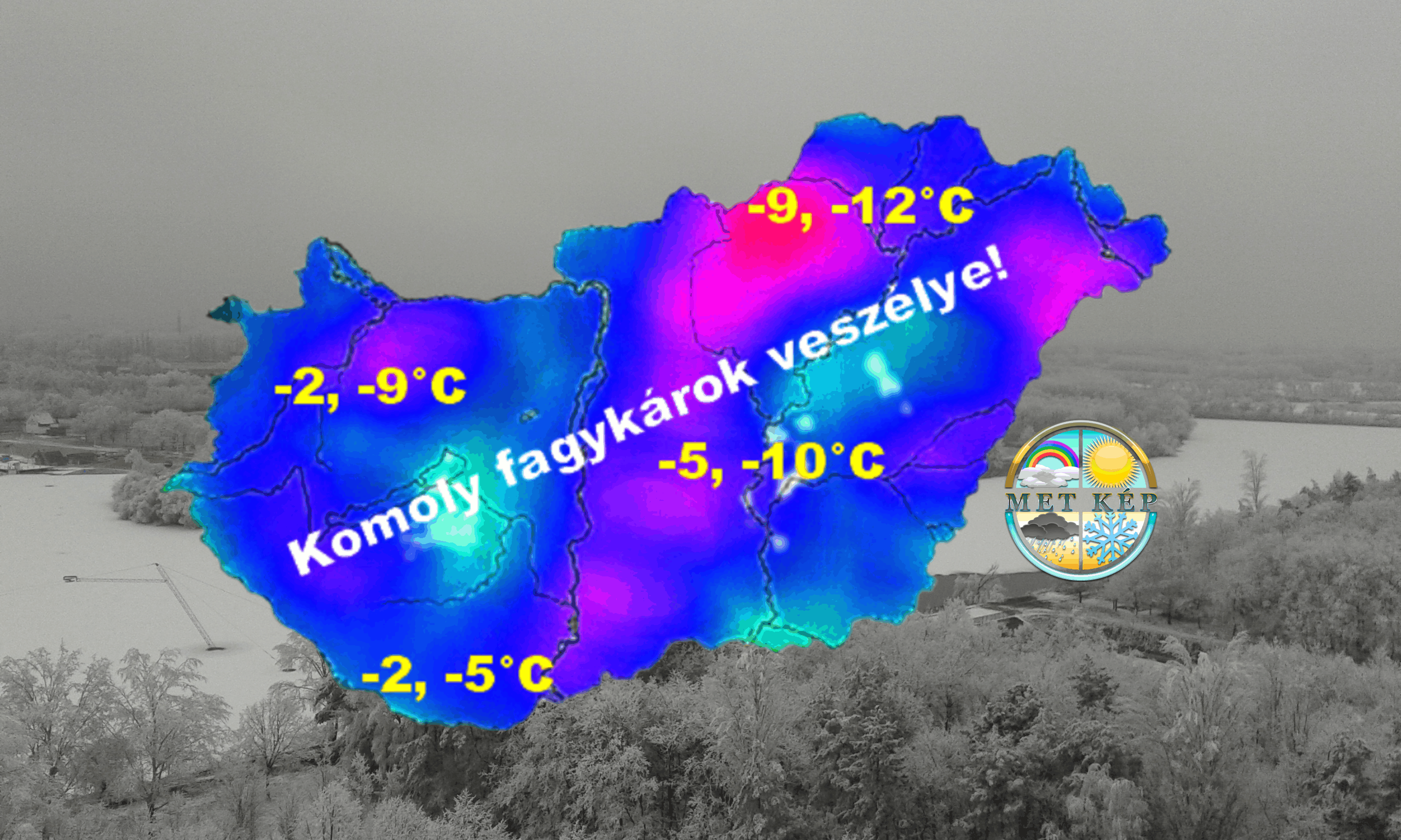 Zord hideggel indul április, -10, -12 fokos fagy is várható! 1