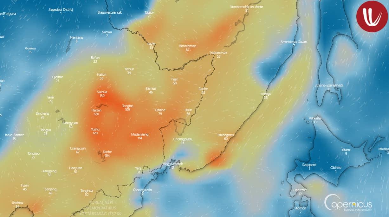 Hatalmas erdőtűz veszélyezteti Vlagyivosztokot! 2