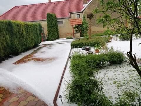 Szupercella okozott fél méteres jeget! 1