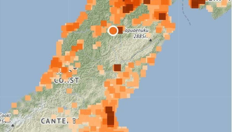 Erős földrengés Új-Zéland térségében! 4