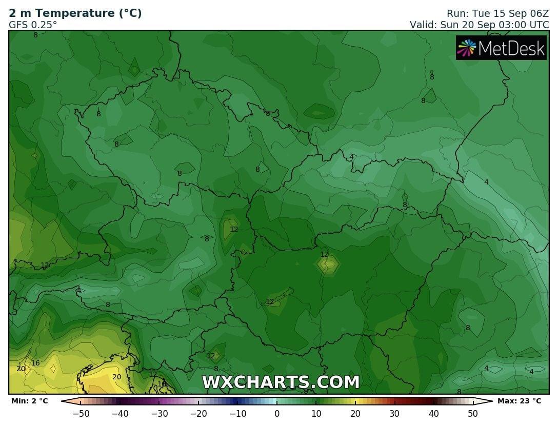 Markáns hidegfront: 8-10fokos lehűléssel, viharos széllel, az első fagyokkal érkezhet pénteken! 5