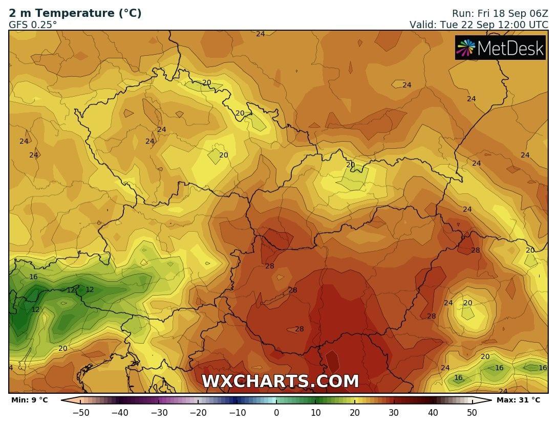 Hétfőn már majdnem kánikulai meleg lehet délen