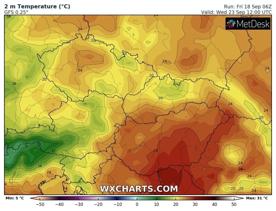 Napközben az átlagnál jóval melegebb idő várható