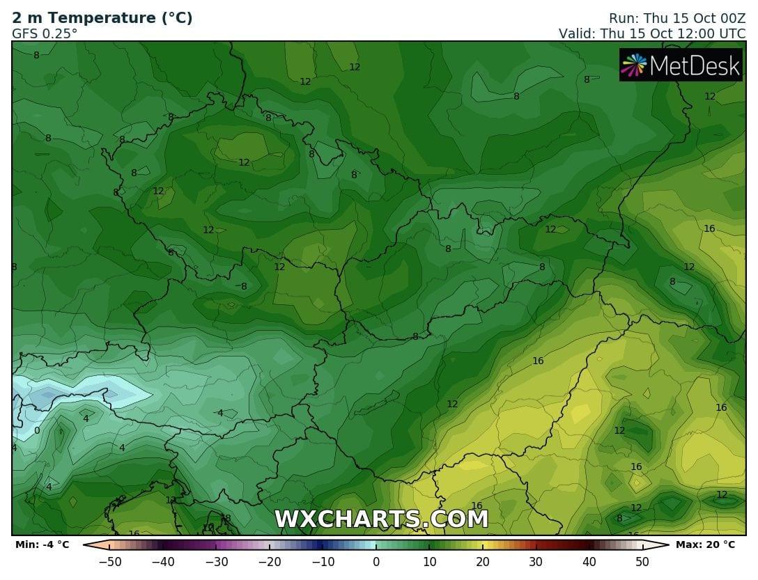 Időjárás előrejelzés meleg