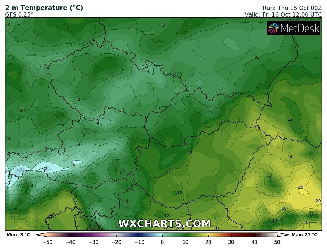 Hosszútávú kilátások: eleinte hideg, többfelé fagyos reggelek, majd erős melegedés, 20-24 fokkal! (Animációs időjárás előrejelzés) 4