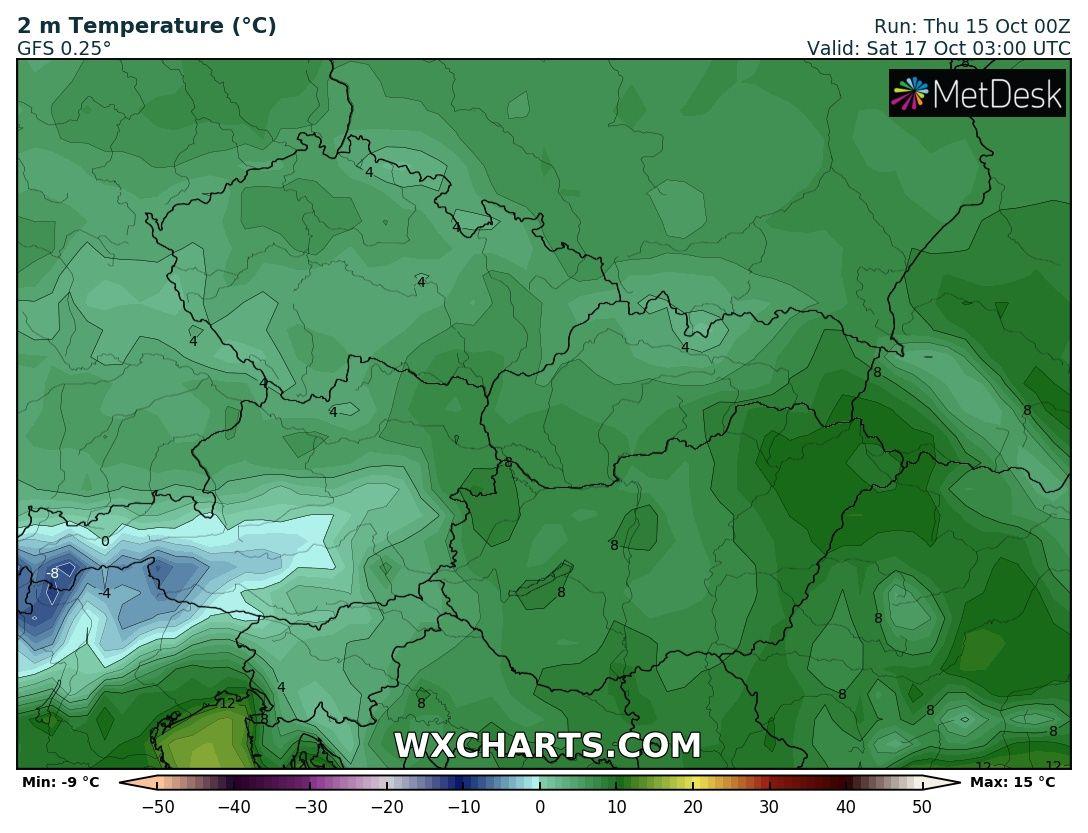 Hosszútávú kilátások: eleinte hideg, többfelé fagyos reggelek, majd erős melegedés, 20-24 fokkal! (Animációs időjárás előrejelzés) 5