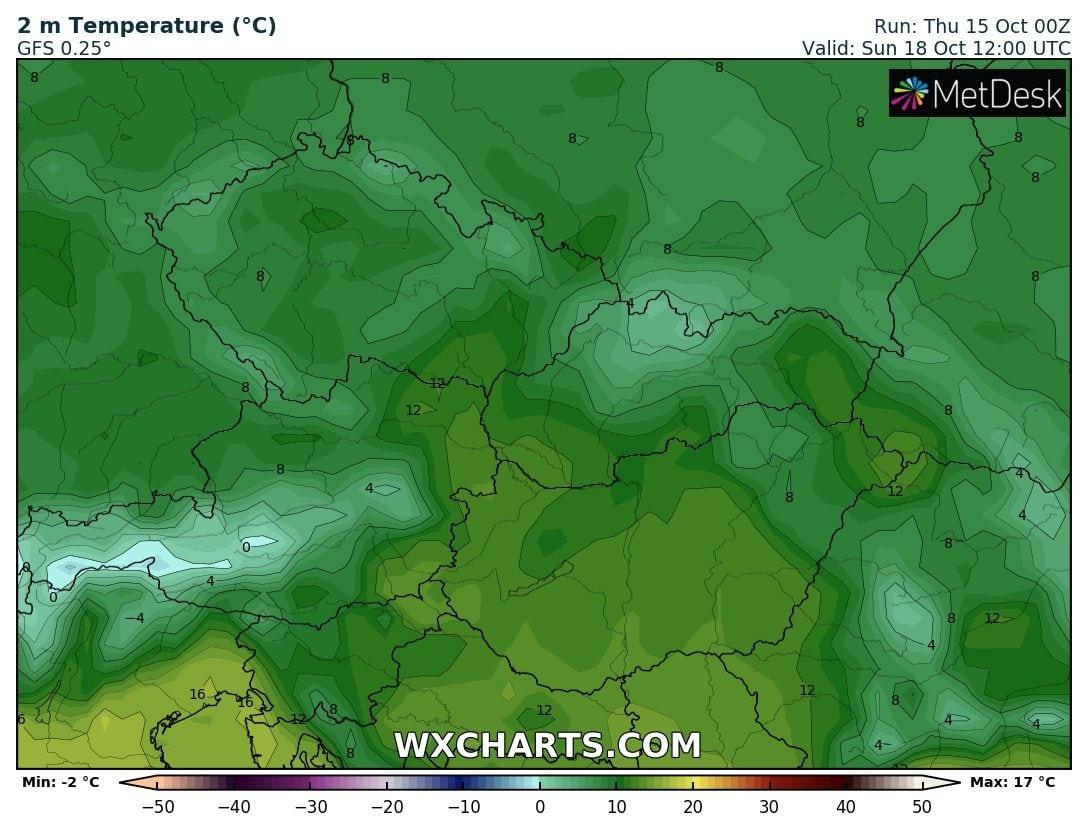 Hosszútávú kilátások: eleinte hideg, többfelé fagyos reggelek, majd erős melegedés, 20-24 fokkal! (Animációs időjárás előrejelzés) 8