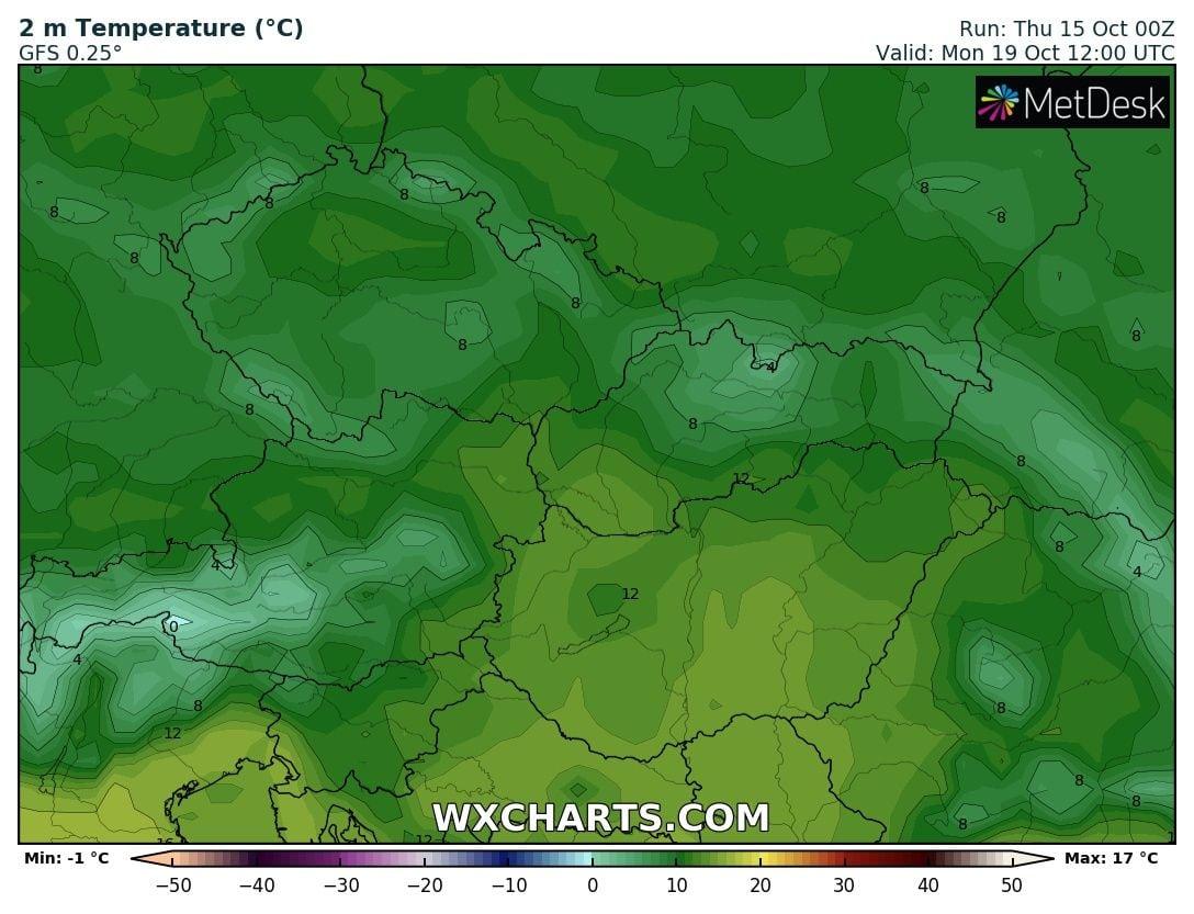 Hosszútávú kilátások: eleinte hideg, többfelé fagyos reggelek, majd erős melegedés, 20-24 fokkal! (Animációs időjárás előrejelzés) 10