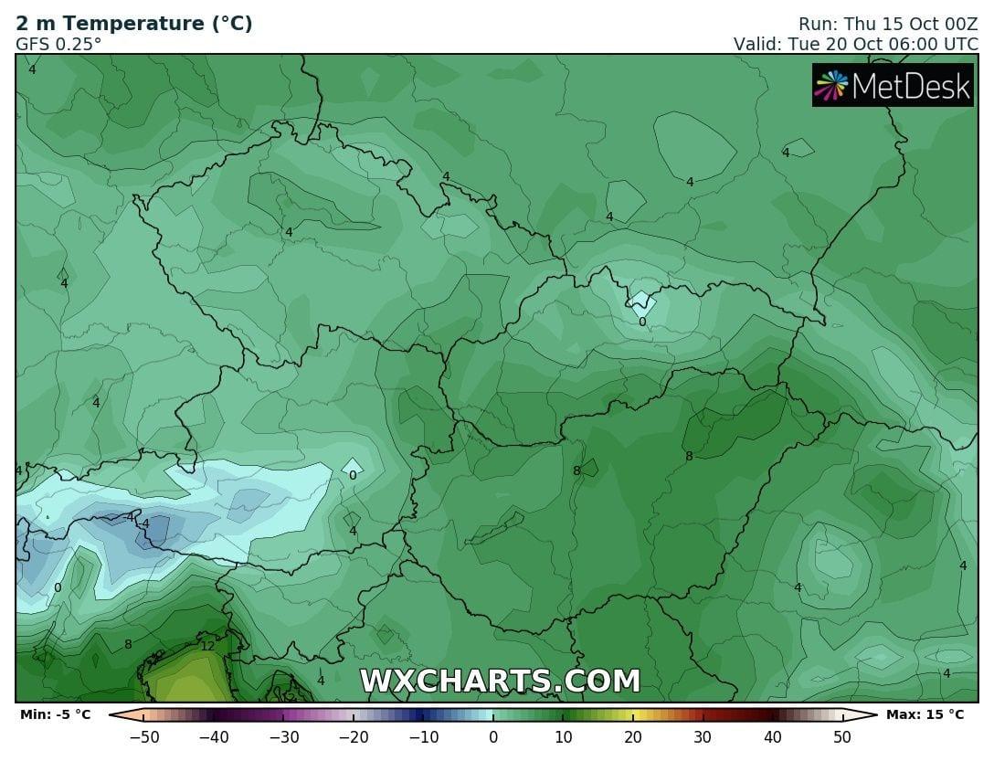 Hosszútávú kilátások: eleinte hideg, többfelé fagyos reggelek, majd erős melegedés, 20-24 fokkal! (Animációs időjárás előrejelzés) 11