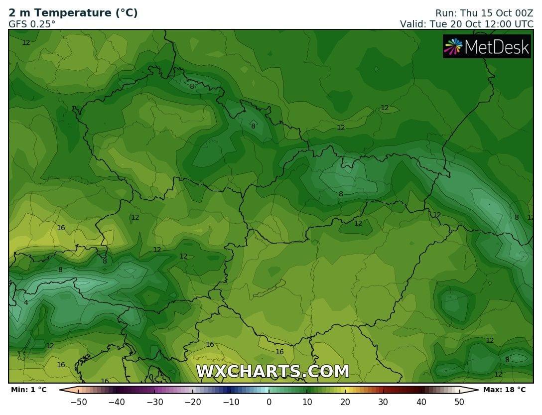 Hosszútávú kilátások: eleinte hideg, többfelé fagyos reggelek, majd erős melegedés, 20-24 fokkal! (Animációs időjárás előrejelzés) 12