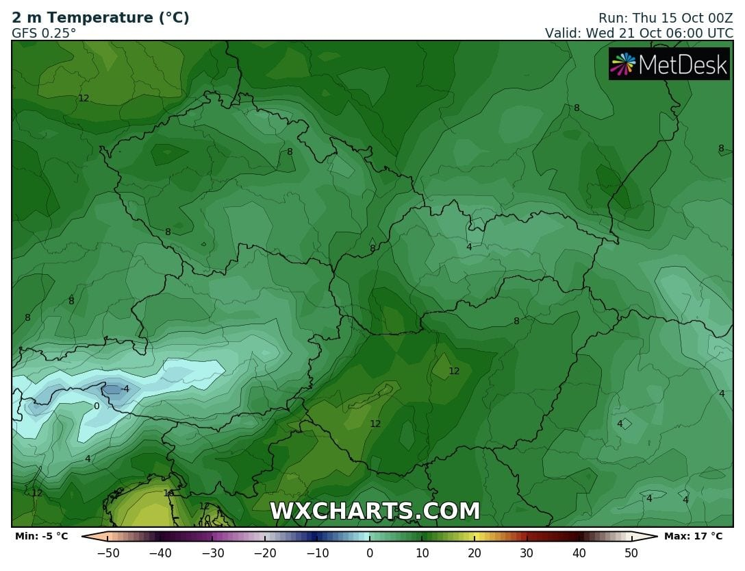 Hosszútávú kilátások: eleinte hideg, többfelé fagyos reggelek, majd erős melegedés, 20-24 fokkal! (Animációs időjárás előrejelzés) 13