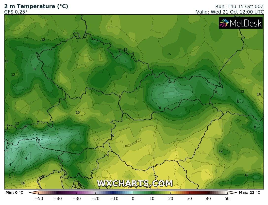 Hosszútávú kilátások: eleinte hideg, többfelé fagyos reggelek, majd erős melegedés, 20-24 fokkal! (Animációs időjárás előrejelzés) 14