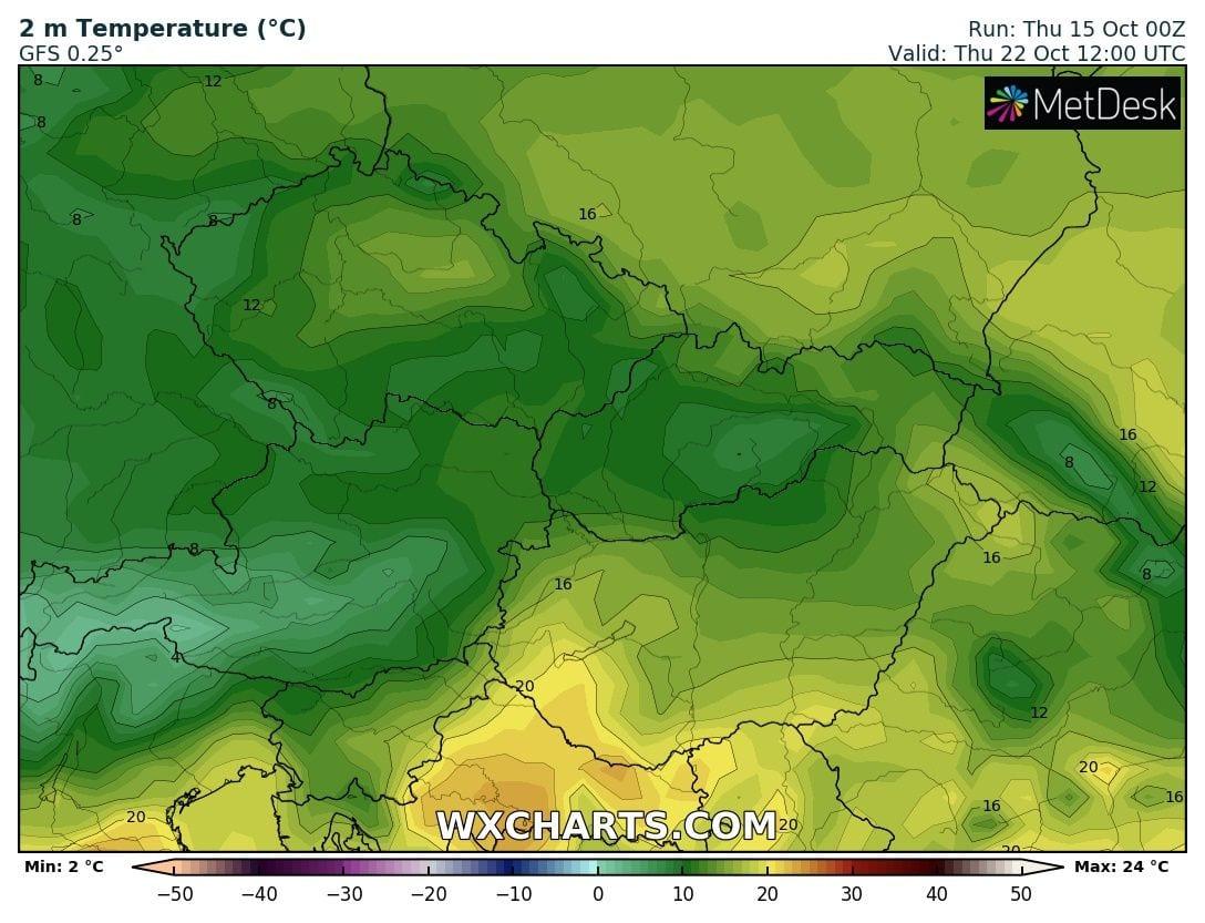 Hosszútávú kilátások: eleinte hideg, többfelé fagyos reggelek, majd erős melegedés, 20-24 fokkal! (Animációs időjárás előrejelzés) 16