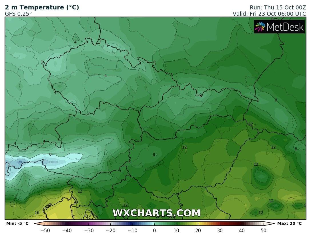 Hosszútávú kilátások: eleinte hideg, többfelé fagyos reggelek, majd erős melegedés, 20-24 fokkal! (Animációs időjárás előrejelzés) 17