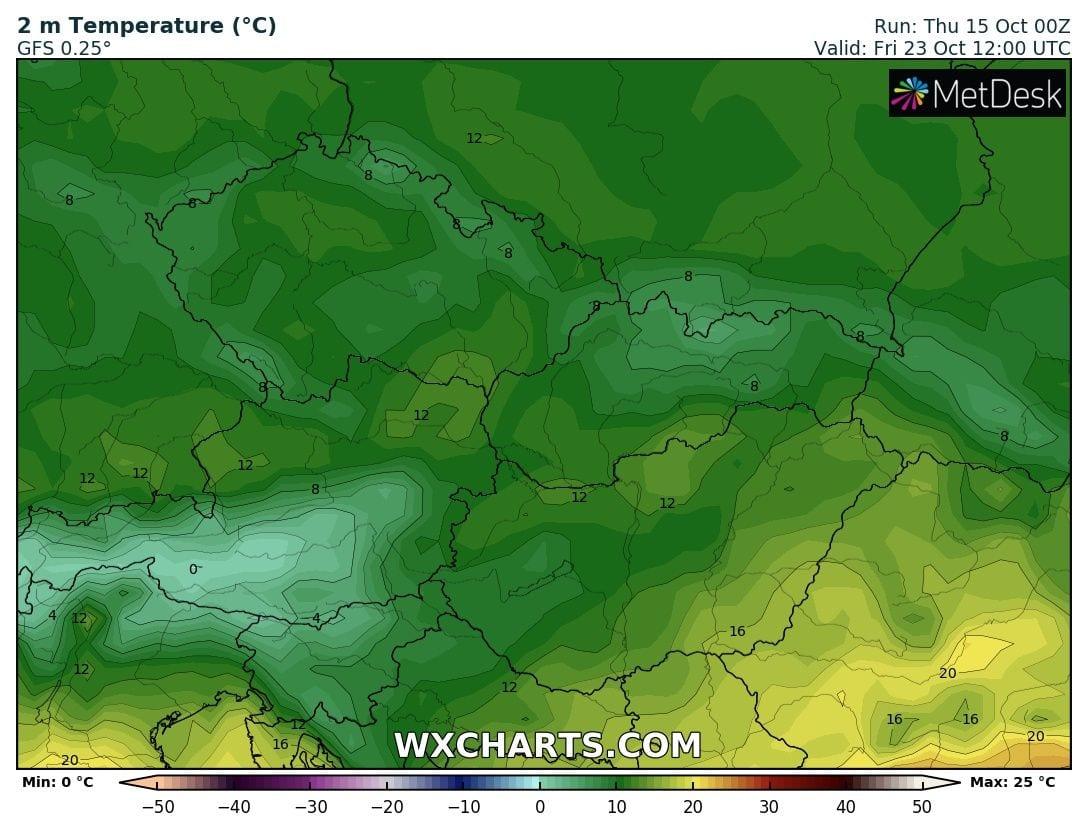 Hosszútávú kilátások: eleinte hideg, többfelé fagyos reggelek, majd erős melegedés, 20-24 fokkal! (Animációs időjárás előrejelzés) 18