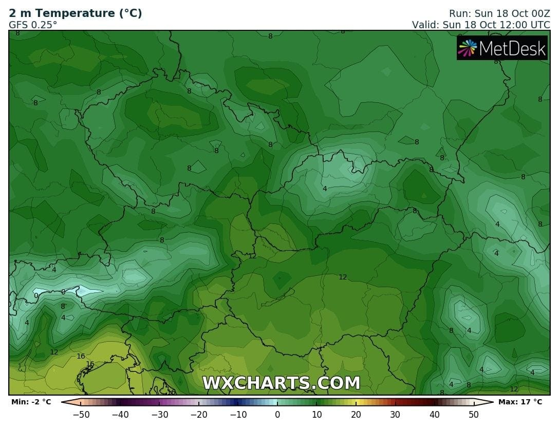 Hosszútávú kilátások: eleinte fagyhat, majd kettősség: hideg, ködös, kontra 20-22 fok, napsütés! (Animációs időjárás előrejelzés) 2
