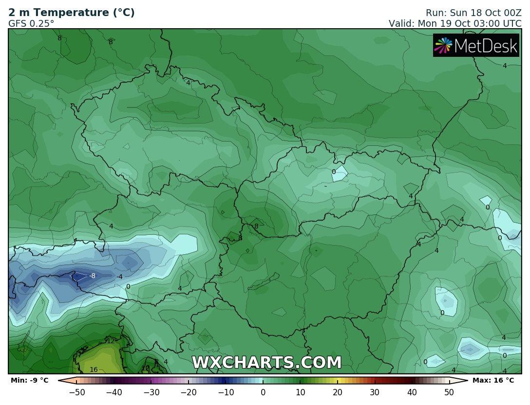 Hosszútávú kilátások: eleinte fagyhat, majd kettősség: hideg, ködös, kontra 20-22 fok, napsütés! (Animációs időjárás előrejelzés) 3