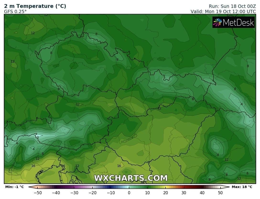 Hosszútávú kilátások: eleinte fagyhat, majd kettősség: hideg, ködös, kontra 20-22 fok, napsütés! (Animációs időjárás előrejelzés) 4