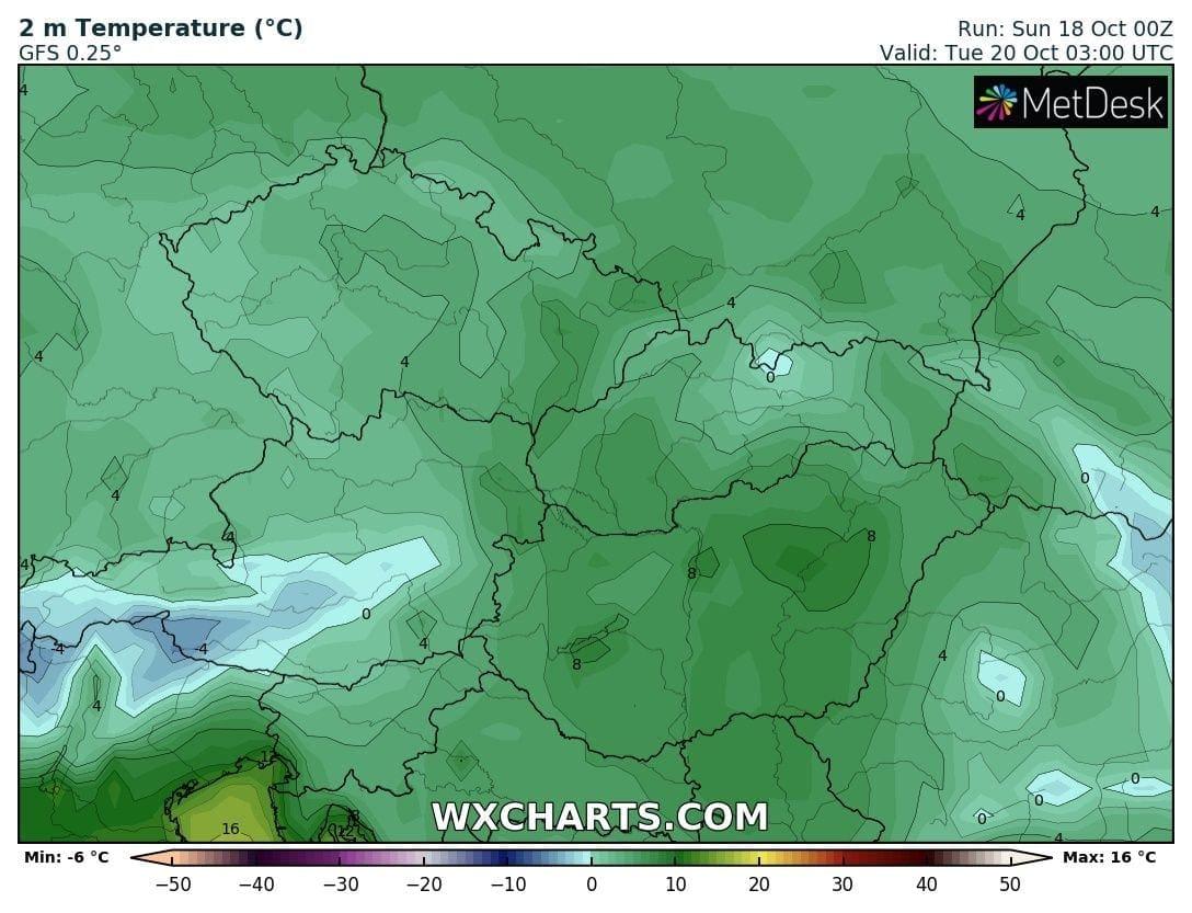 Hosszútávú kilátások: eleinte fagyhat, majd kettősség: hideg, ködös, kontra 20-22 fok, napsütés! (Animációs időjárás előrejelzés) 5