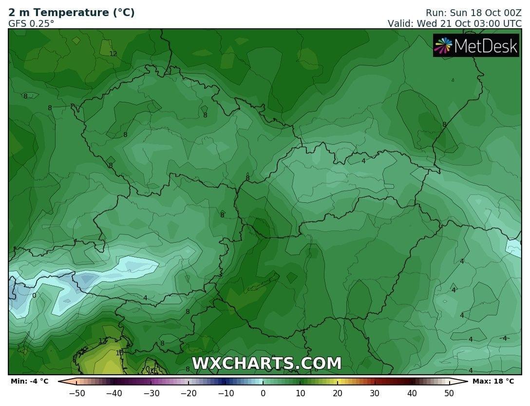 Hosszútávú kilátások: eleinte fagyhat, majd kettősség: hideg, ködös, kontra 20-22 fok, napsütés! (Animációs időjárás előrejelzés) 7